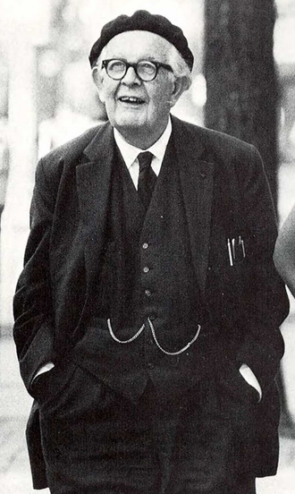 Jean Piaget - Piaget at the University of Michigan, c. 1968