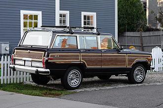 Jeep Wagoneer (SJ) - Late 1980s Grand Wagoneer