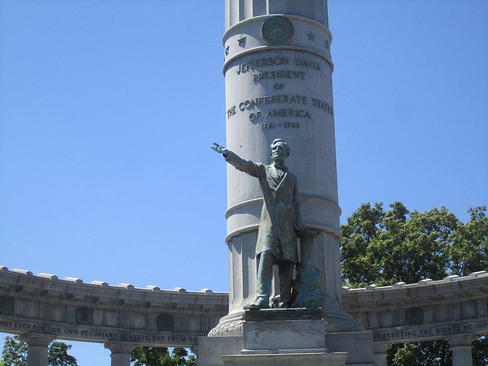 Jefferson Davis Monument, Richmond, VA IMG 4066