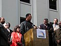 Jesse Jackson speaking at the capitol during the 2000 presidential election vote dispute (02).jpg