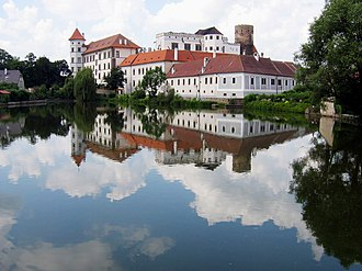 South Bohemian Region - Jindřichův Hradec castle