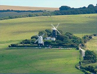 Clayton Windmills - Image: Jjcrop