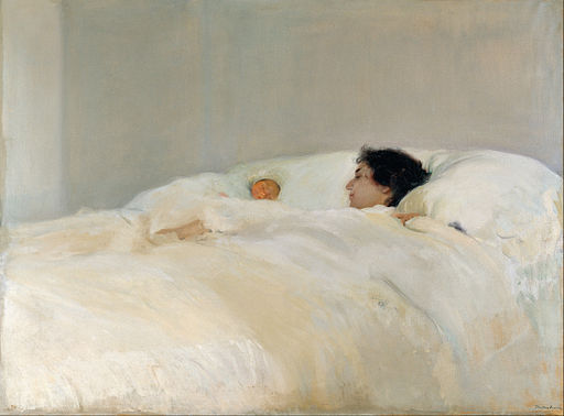 Joaquín Sorolla y Bastida - Mother - Google Art Project