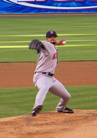 Johan Santana - Santana pitching for the Twins on June 2, 2006