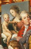 Johan Zoffany - Tribuna of the Uffizi - 06 raffaello.jpg
