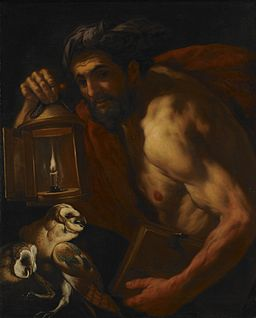 Johann Carl Loth - Diogenes - 67.50 - Minneapolis Institute of Arts