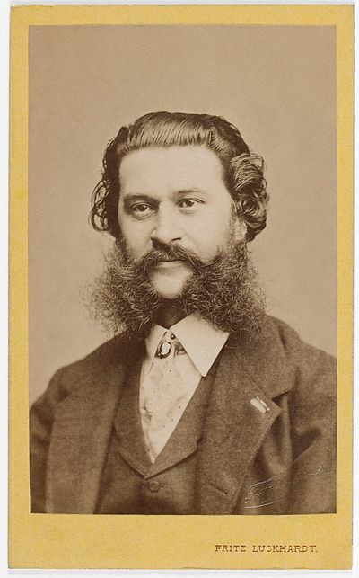 Picture of a band or musician: Johann Strauss II