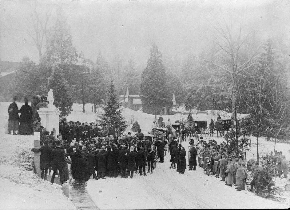 John A. Logan funeral