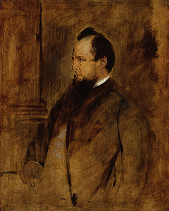 John Dalberg-Acton, 1st Baron Acton - Portrait of John Acton by Franz Seraph von Lenbach, circa 1879.