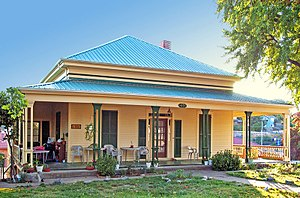 National Register of Historic Places listings in Amador County, California - Image: John Butterfield House in Jackson California October 2006