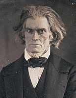 John C Calhoun by Mathew Brady, March 1849-crop.jpg