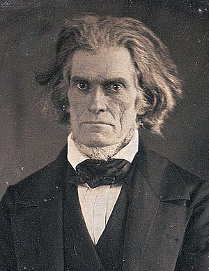United States presidential election, 1828 - Image: John C Calhoun by Mathew Brady, March 1849 crop