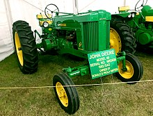 List of John Deere tractors - Wikipedia John Deere L Wiring Diagram on