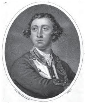 John Lockhart-Ross - Sir John Lockhart-Ross, Bt., an engraving of a portrait by Sir Joshua Reynolds, c. 1760