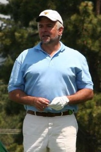 John O'Hurley - John O'Hurley in a golf tournament in July 2000