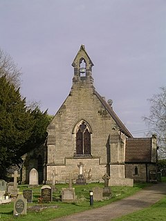 Tixall village in United Kingdom
