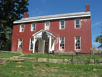 Charlestown Township, Clark County, Indiana - The John Work House, a historic site in the township