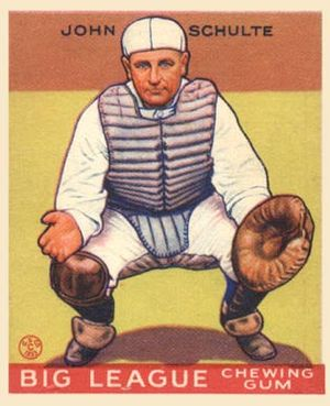 Johnny Schulte - Image: Johnny Schulte Goudeycard