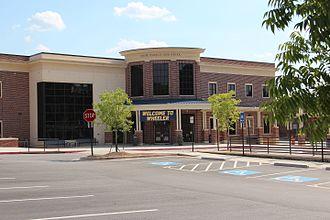 Joseph Wheeler High School - Wheeler High School entrance