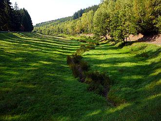 Jossgrund - Upper valley of the Jossa between Lettgenbrunn and Pfaffenhausen