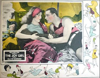 Neil Hamilton (actor) - Hamilton and Olive Borden in The Joy Girl 1927