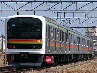 Hachikō Line - Image: Jreast 209 3100