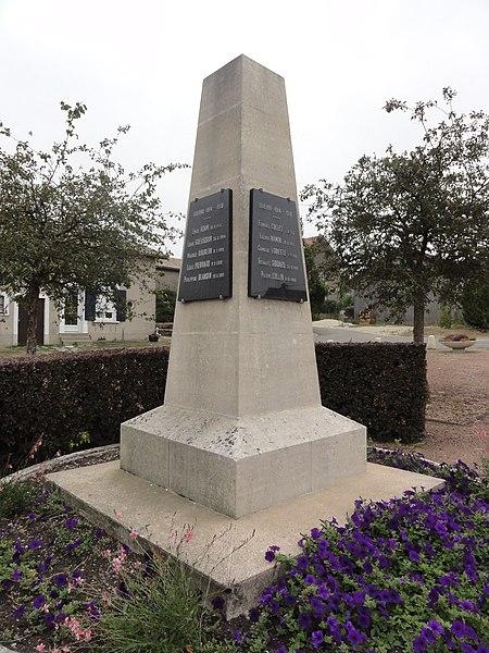 Jubécourt (Clermont-en-Argonne, Meuse) monument aux morts