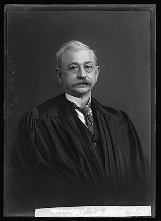 George W. Atkinson - Judge G.W. Atkinson in judicial robes