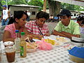 Judging the Nacatamales at the Corn Festival..jpg