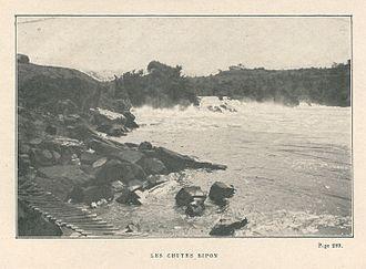 Ripon Falls - Image: Jules Leclercq Aux sources du Nil 1913 chutes Ripon