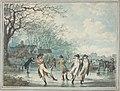 Julius Caesar Ibbetson, Skaters on the Serpentine in Hyde Park, 1786, NGA 70279.jpg
