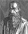 Julius Caesar Scaliger. Line engraving by N. de Larmessin - Isaac Bullart .jpg