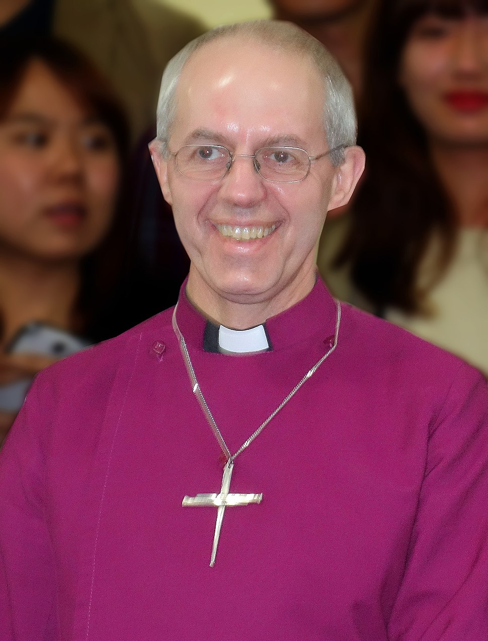 Justin Welby at Seoul Cathedral