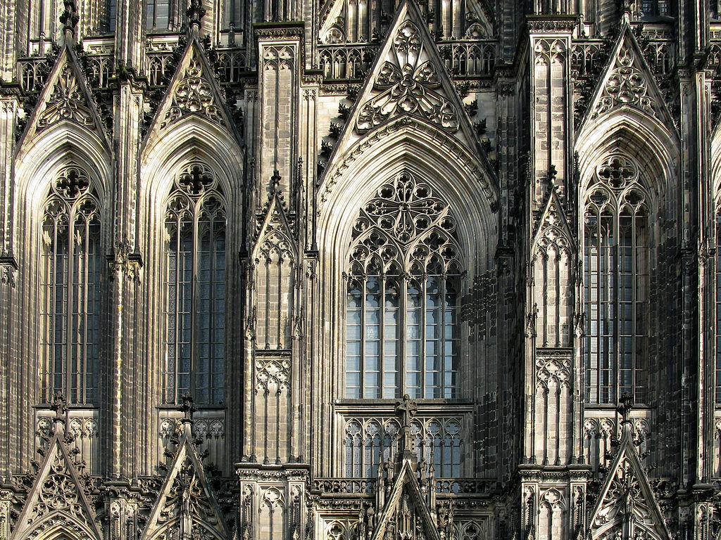 Kölner Dom Fassade