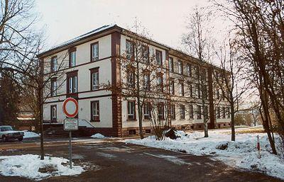 Königsfeld im Schwarzwald Zinzendorfschulen Haus Spangenberg 1999 11 27.jpg