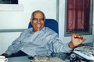 K. P. P. Nambiar - Nambiar at his residence