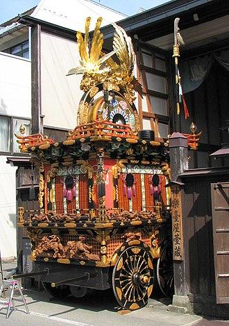 Takayama, Gifu - Takayama Matsuri Float