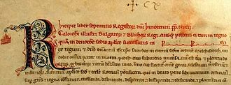 Kaloyan of Bulgaria - Pope Innocent III's letter to Kaloyan