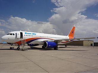 Kam Air - Former Kam Air Airbus A320-200