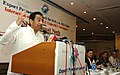 Kamal Nath addressing and interacting with EOUs SEZ Units SEZ Developers on the occasion of 4th Annual General Meeting of Export Promotion Council for EOUs & SEZ Units (EPCES), in New Delhi on September 13, 2007.jpg