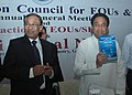 "Kamal Nath releasing a book titled ""Export Promotion Council for EOUs and SEZs"" brought out by EPCES at the 5th Annual General Meeting of Export Promotion Council for EOUs and SEZs, in New Delhi on September 16, 2008.jpg"