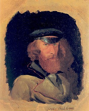 Paul Kane - Self-portrait, circa 1845