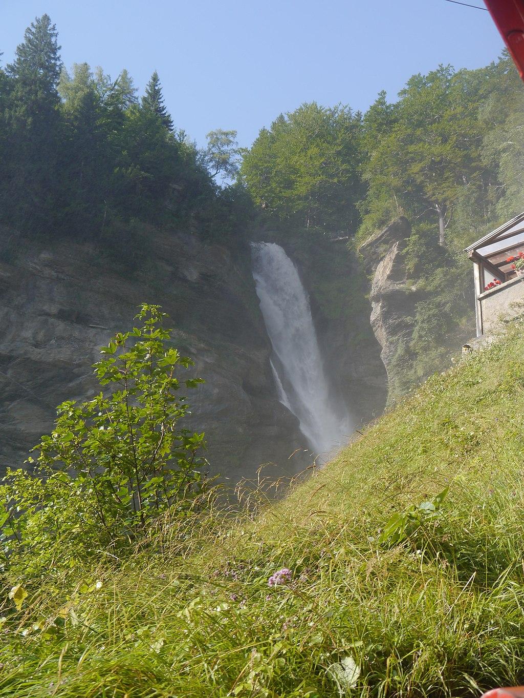 Kanton Bern Reichenbachfall 05