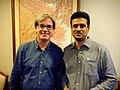 Karamot Ullah Biplob With BBC South Asia corespondent Jonathan Head, Bangkok, Thailand -2015.jpg