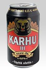 A-olut alkoholipitoisuus