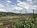 Kashii Line and Kagoshima Main Line near Kyushu Sangyo University 4.jpg