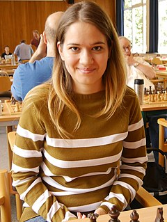 Alina Kashlinskaya Russian chess player