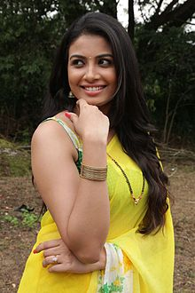 Kavya Shetty during Ishtakamya Shooting.jpg