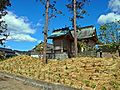 Kawaguchi-jinja shrine after Tree-planting ceremony.JPG