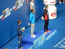 Kazan 2015 - Victory Ceremony 1500m freestyle M.JPG